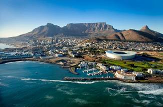 Isn't she beautiful. Cape Town Photo by Greg Lumley - South Africa Travel News